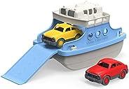Green Toys 渡轮 带迷你汽车 浴缸玩具 蓝色/白色