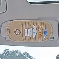 GiGi/吉吉 遮阳板式CD袋 CD夹 G-1103 (杏色)