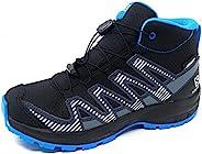 Salomon 萨洛蒙 XA PRO 3D V8 Mid CSWP 中性儿童防水越野跑步户外鞋