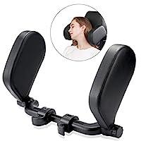 汽车座椅头枕,U 形可调节汽车颈枕,汽车座椅头颈支撑,适用于儿童,成人,老年人,青少年