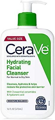 CeraVe 保濕潔面乳,日常使用 16盎司