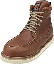 Timberland PRO 男士 53009 坡跟鞋底 6英寸軟頭靴子