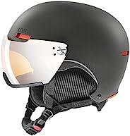 UVEX 優維斯 中性 - 成人,hlmt 500 visor 滑雪頭盔