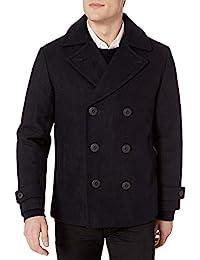 Perry Ellis 男式羊毛大衣