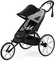 CYBEX AVI 慢跑童车,轻巧的铝制车架,紧凑的折叠收纳,高度可调的单手转向车把,后轮悬挂,带有手刹,适用于 9 个月以上的婴儿