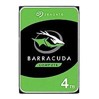 Seagate 希捷 Barracuda 内置硬盘 适用于电脑台式电脑 - 简易包装ST4000DMZ04/DM004 BarraCuda HDD 4TB