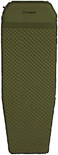 Snugpak Elite 超大自动充气垫内置枕头和防滑底部,橄榄色