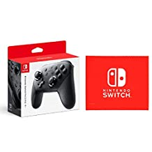 Nintendo 任天堂 Switch Pro手柄 Nintendo Switch 标志设计 超细纤维布 【Amazon.co.jp限定】