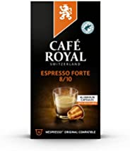 咖啡厅皇家浓缩咖啡 Forte Nespresso 兼容铝制咖啡豆荚,0.051999 千克