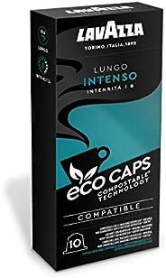 LAVAZZA 拉瓦萨 环保胶囊咖啡 100个装 与Nespresso Original *咖啡机兼容 Lungo Intenso 可堆肥-10×10包(530克) 1.09千克