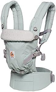 Ergobaby Adapt 婴儿背带 适合新生儿使用 3 合 1 婴儿腹部背带 磨砂薄荷色