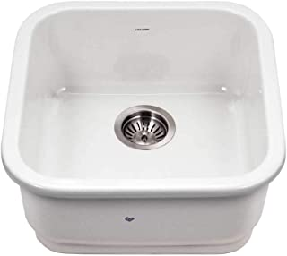 Houzer PTB-1919 WH Fireclay Bar Sink 白色