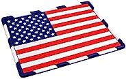 爱国美国国旗车辆防滑仪表板