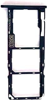 适用于摩托罗拉 G7 Power SIM 卡托盘 - SIM 卡托盘和 Micro SD SIM 卡夹容器替换零件适用于摩托罗拉 Moto G7 Power XT1955 6.2 英寸