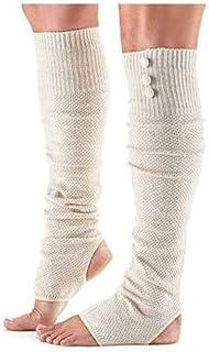 ToeSox 女式 Rae 过膝开跟暖腿套