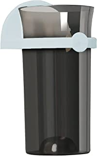 YIVIYAR 雨伞支架架,壁挂式雨伞支架带挂钩可拆卸室内雨伞架收纳架伞架存储空间适用于家庭办公室入口