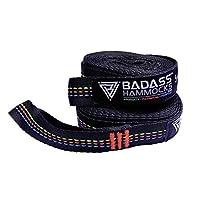 Badass 吊床树带 2000 磅和 5000 磅专业测试 - 温和地毯的*佳选择。
