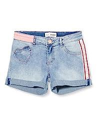 Desigual 女童牛仔短裤