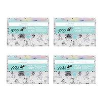 Yoobi 索引卡带盒   4 件装趣味   400 张带支架