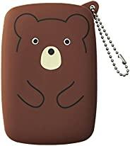 LIHIT LAB. 挂件储物袋 PuniLabo A-7710-1 熊