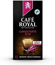 Café Royal Lungo Forte Nespresso 兼容铝制咖啡夹,强度 8/10,0.055 kg