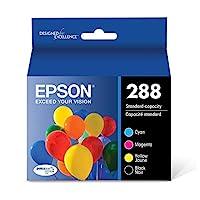 Epson 愛普生 T288520 DURABrite Ultra Color Combo Pack 標準容量墨盒 Standard Capacity 黑色和彩色組合套裝