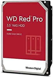 Western Digital 西部数据 WD Red Pro NAS内部硬盘驱动器-7200 RPM级,SATA 6 Gb / s,CMR,256 MB高速缓存,3.5英寸(约8.89厘米)-WD8003FFBX,8T