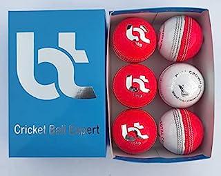 白色/粉色 156 克板球,2 件装,6 个球,真皮,卓越品质