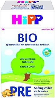 HiPP 喜宝 Bio 婴儿奶粉 Pre段(适用于初生婴儿),4盒装(4 x 600g)