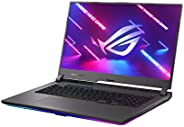 ASUS 华硕 ROG Strix G17(2021)游戏笔记本电脑,17.3 英寸 300Hz IPS Type FHD,NVIDIA GeForce RTX 3070,AMD Ryzen 9 5900HX,16GB