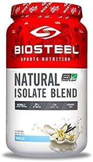 BioSteel 天然分离混合蛋白粉,含牛奶蛋白,乳清蛋白,香草味,700克