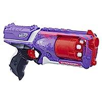 Hasbro 孩之宝 Strongarm Nerf N-Strike 热火 精英玩具冲击波,带有旋转枪管,大满贯火力,以及6个面向儿童,青少年和成人的Nerf官方飞镖(Amazon Exclusive)