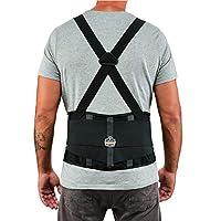 Ergodyne ProFlex 高性能背部支撑带,黑色 XXX-Large 2000SF
