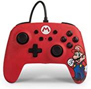 PowerA NSW EnWired Link增强的有线控制器 适用于任天堂 Switch – Mario