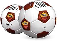 Techmade vd-tm-speakfoot-rom Bluetooth Speaker For Football, as roma, White