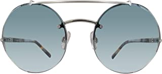 Swarovski 施华洛世奇 SK0133-16W 太阳镜银色,黑色 60 毫米