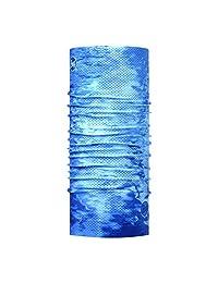 Buff 男式Pelagic Camo Coolnet Uv+,蓝色,均码