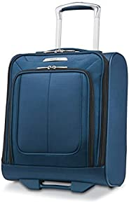 Samsonite Solyte DLX Softside Underseat Wheeled Carry On, Mediterranean Blue
