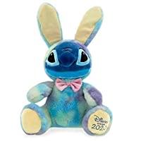 官方迪士尼 Lilo & Stitch 复活节兔子史迪奇 40cm 软毛绒玩具