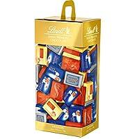 Lindt 瑞士莲 Naps 巧克力棒混合装,包含6种不同的经典迷你巧克力,例如 全脂牛奶,白巧克力或牛轧糖,1000克