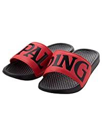 SPALDING(斯伯丁) 篮球运动凉鞋 女 SPALDING 饰品 小饰品 SASH001W SASH001W 黑色 x 红色 FREE