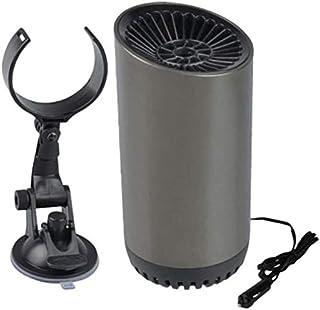 汽车加热器 150 瓦 12 伏 挡风玻璃除冰器 快速加热和冷却风扇 汽车减压器 带吸盘