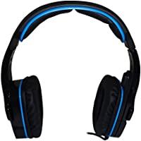 SADES 赛德斯 SA-708 蓝黑 游戏耳机 头戴式 电脑游戏耳麦 语音 带麦克风