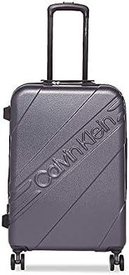 Calvin Klein Cheer 硬壳万向轮拉杆箱,带 TSA 锁 灰色 24英寸