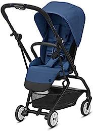 Cybex Eezy S Twist 2 婴儿车,独特的单手 360 度旋转座椅,单手折叠,旅行推车,易于携带,*蓝