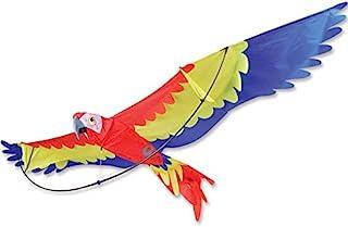 Premier 风筝 7 英尺鹦鹉 3D 风筝,适合成人和儿童轻松飞风筝 | 超大风筝具有巨大的 86 英寸(约 218.4 厘米)翼展和 41 英寸(约 104.1 厘米)机身