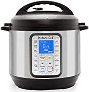 Instant Pot DUO Plus 9 合 1 多用途可编程压力锅、慢炖锅、电饭煲、乳锅、蛋锅、炒锅、蒸锅、加热器和*器 不锈钢/黑色 6 Quart IP-DUO Plus60 需配变压器