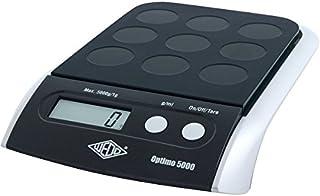 Wedo 485001 电子万能秤 Optimo 5000 (5000 克/1 克) 黑色/银色