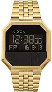 Nixon Re-Run A158. 100m Water Resistant Men's Digital Watch (38.5mm Digital Watch Face. 13-18mm Stainless St