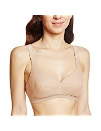 GUNZE 郡是 女士 运动文胸 不必担心汗味 棉混纺 无钢圈文胸 EB9005H